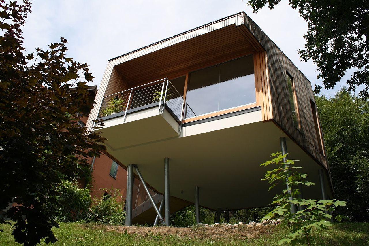 Maison passive construite en Autriche dans les environs de Faaker See