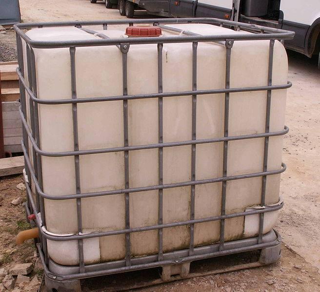 Bac à eau de pluie à poser de 1000 litres
