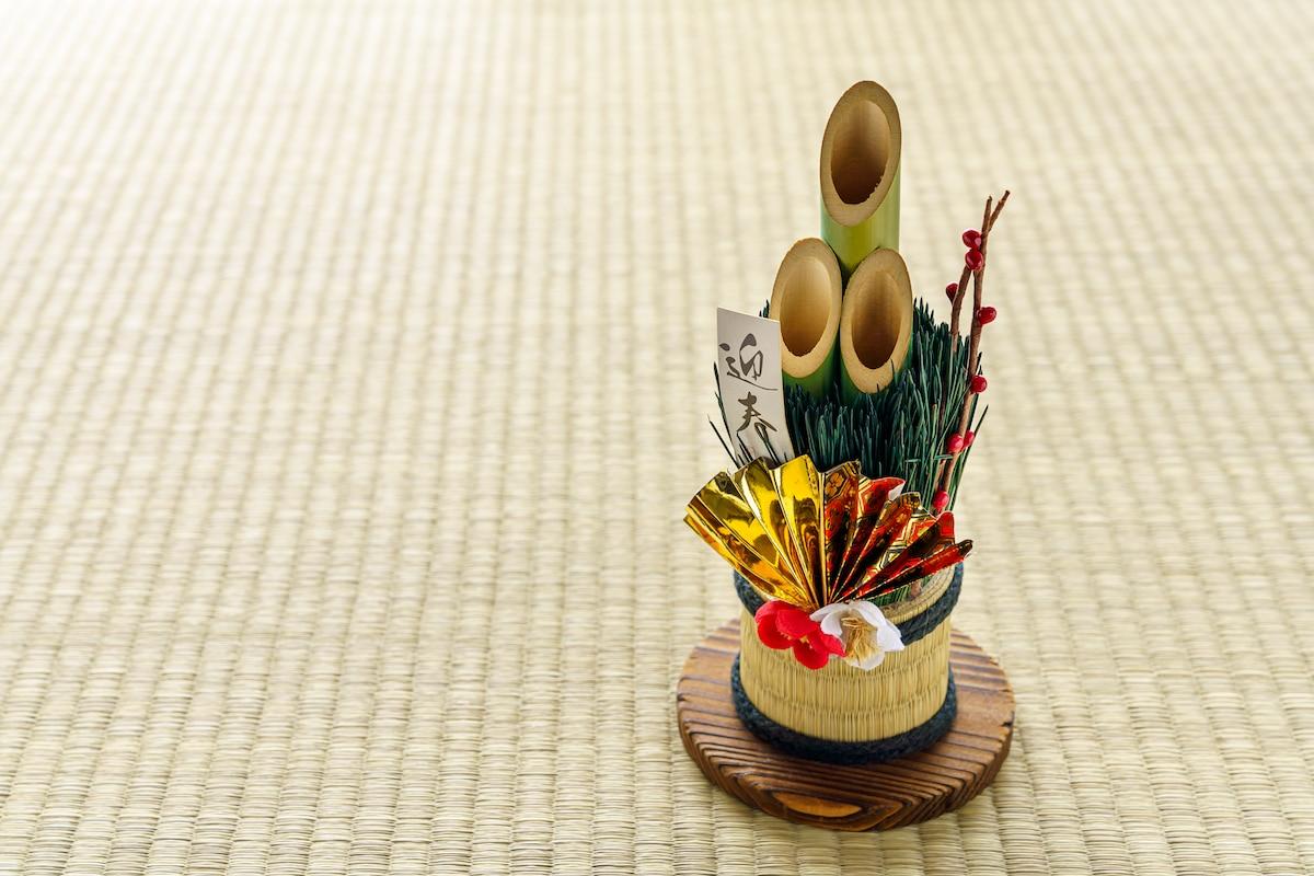 Kadomatsu, la décoration japonaise du nouvel an